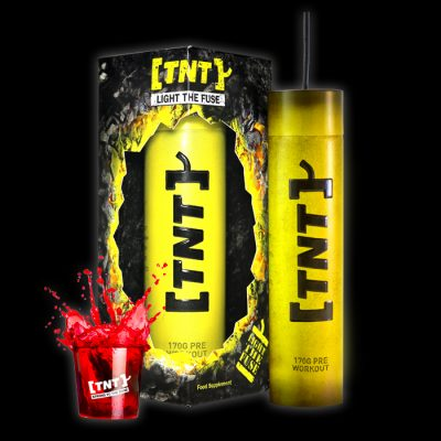 TNT Light The Fuse Pre Workout