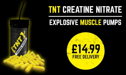 TNT Supplements Creatine Nitrate