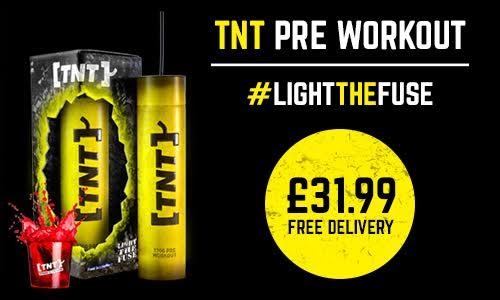 TNT Supplements Light the Fuse Pre Workout
